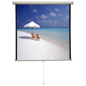 11 Manual Pull Down Projection Screen 71 Nominal Diagonal