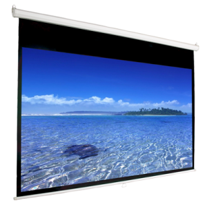 169 Manual Pull Down Projection Screen 135 Nominal Diagonal