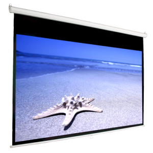 169 Manual Pull Down Projection Screen 92 Nominal Diagonal