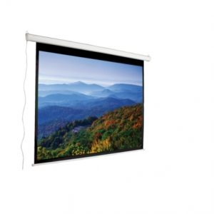 169 Smooth Running Electric Projection Screen