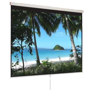 43 Manual Pull Down Projection Screen 120 Nominal Diagonal