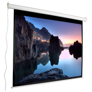 43 Motorized Electric Projection Screen 100 Nominal Diagonal