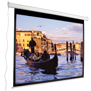 43 Motorized Electric Projection Screen 84 Nominal Diagonal