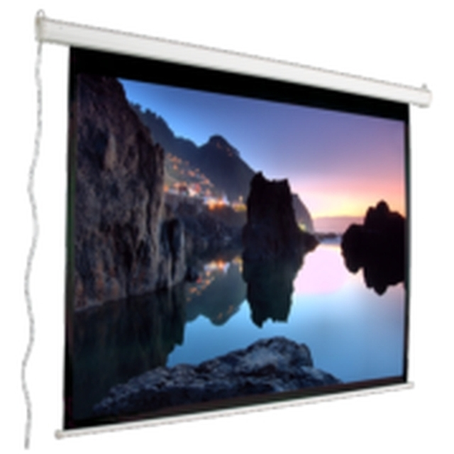 Mustang Av Sc E100d43 Electric Wall Projection Screen
