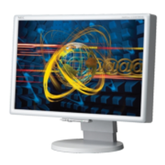 Nec Lcd2070wnx 201 Flat Panel Display