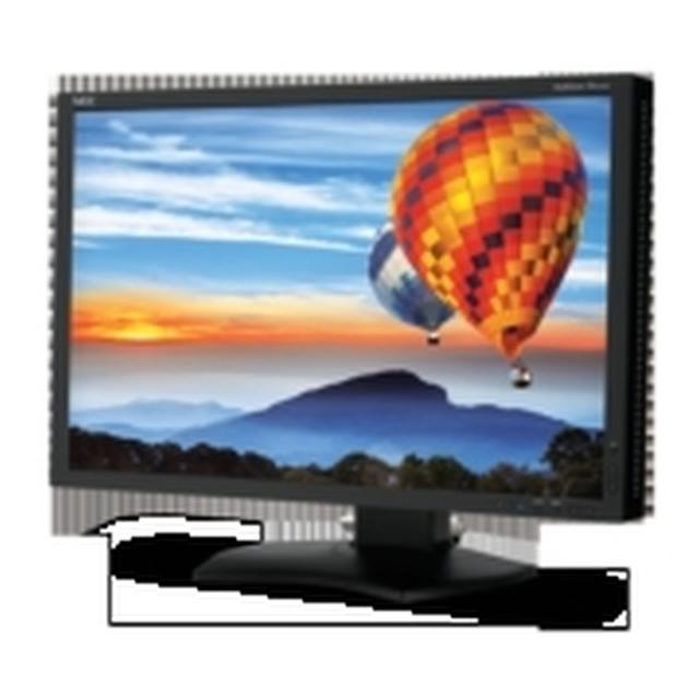 Nec Pa242w Bk 24 Led Flat Panel Display