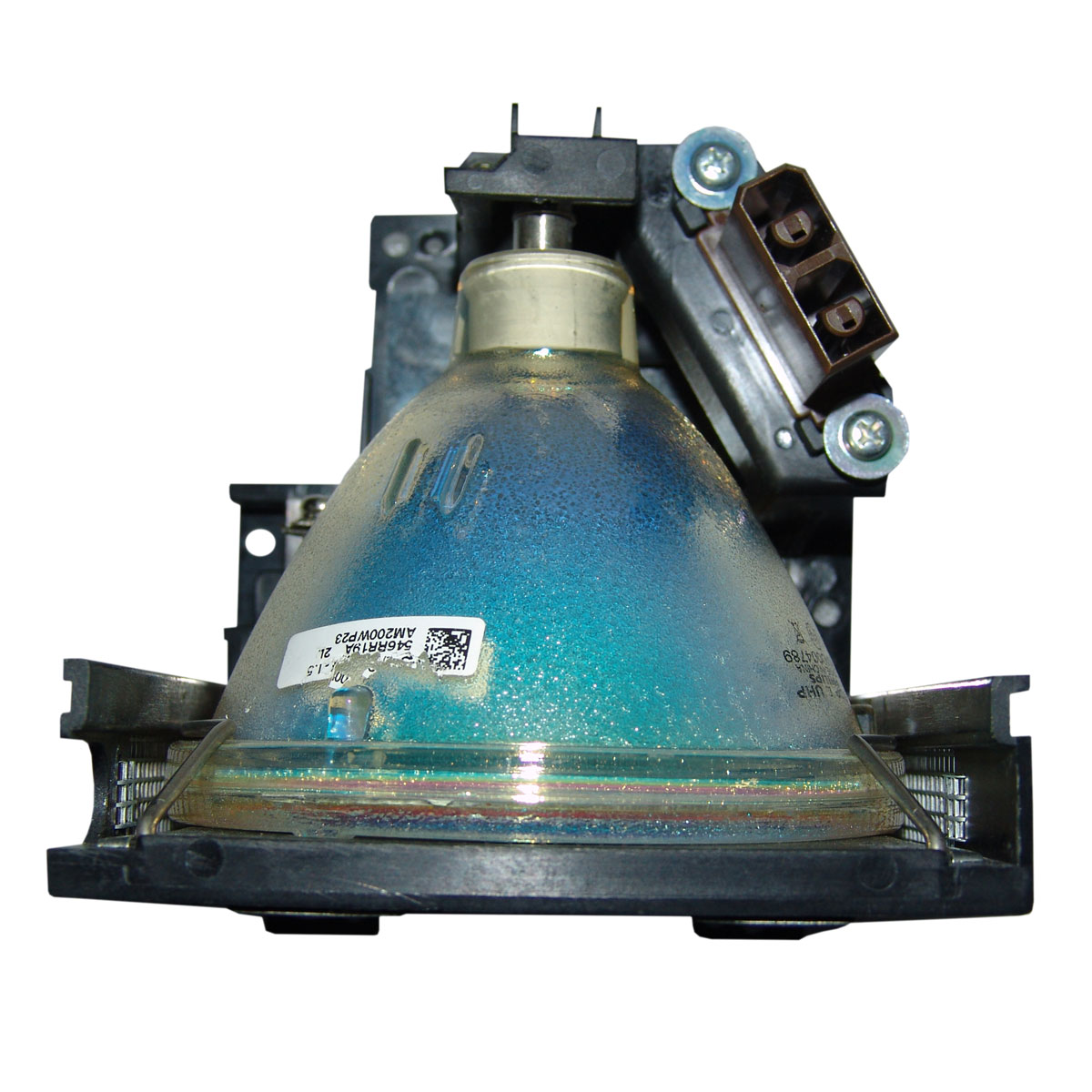 Projector Lamp Assembly with Genuine Original Philips UHP Bulb Inside. XG-P20XE Sharp Projector Lamp Replacement