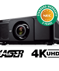 10000 Lumen Wqxga Professional Installation Laser Projector With Lens Black 1