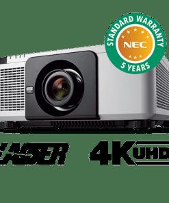 10000 Lumen Wqxga Professional Installation Laser Projector With Lens White 1